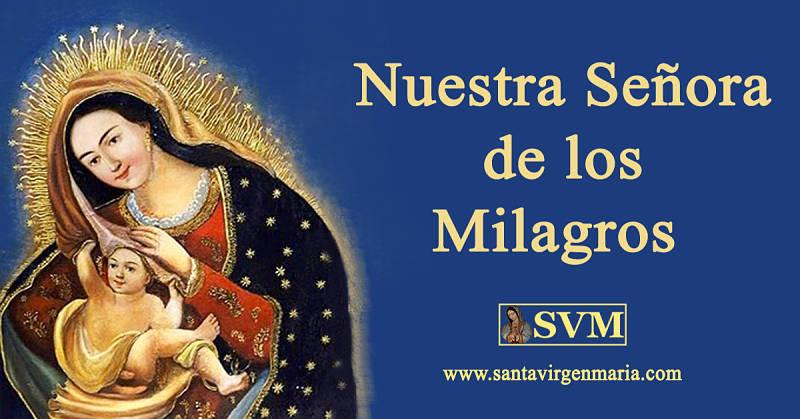 Santa Virgen Maria » Blog Archive ORACION NUESTRA SEÑORA
