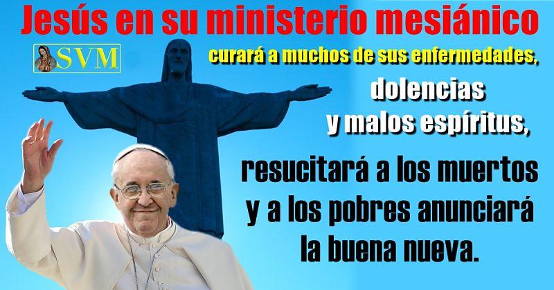 Papa Francisco, jornada mundial enfermo