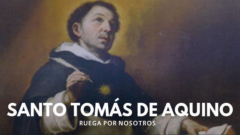 Santo Tomás de Aquino filósofo y doctor de la Iglesia católica