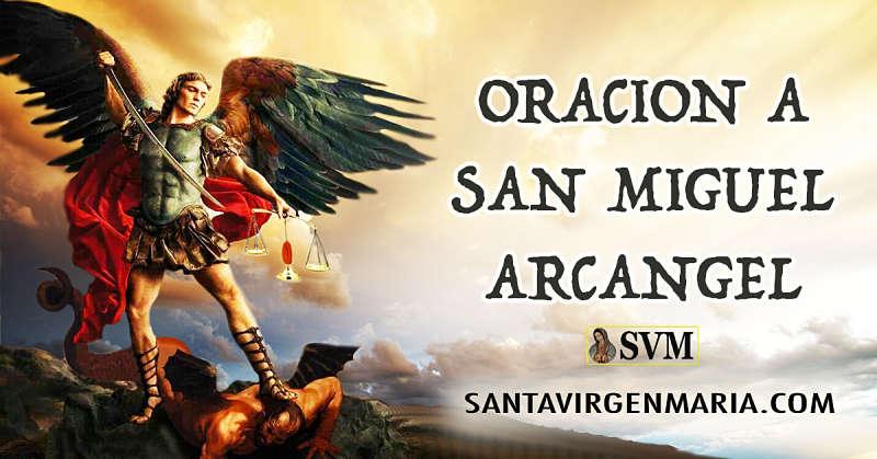 Poderosa Oracion A San Miguel Arcangel Catolica Milicias