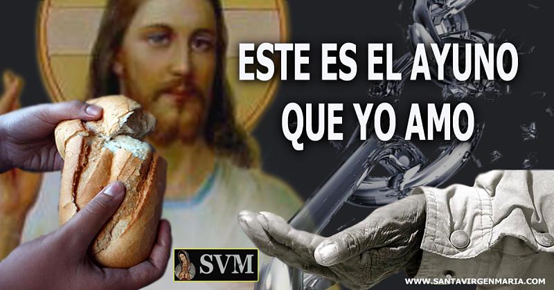 AYUNO QUE AMA EL SEÑOR