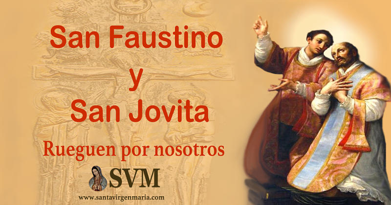 SAN FAUSTINO Y SAN JOVITA
