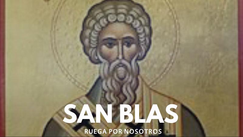 San Blas, Santo garganta patron de paraguay