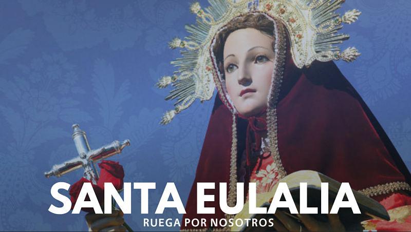 Resultado de imagen para santa eulalia martir