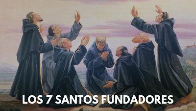 Santos Fundadores de la Orden Siervos Servitas de María