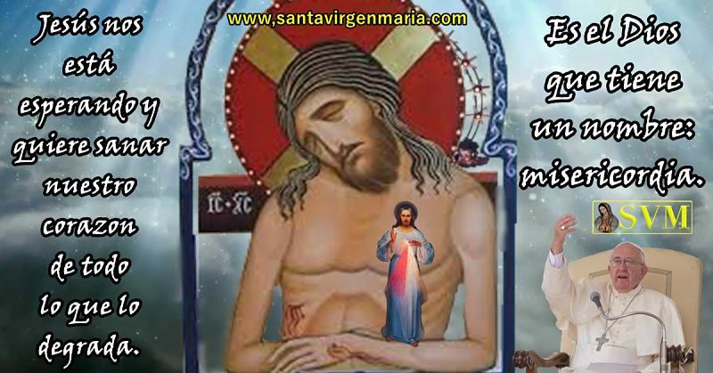 Jesús su nombre es Misericordia