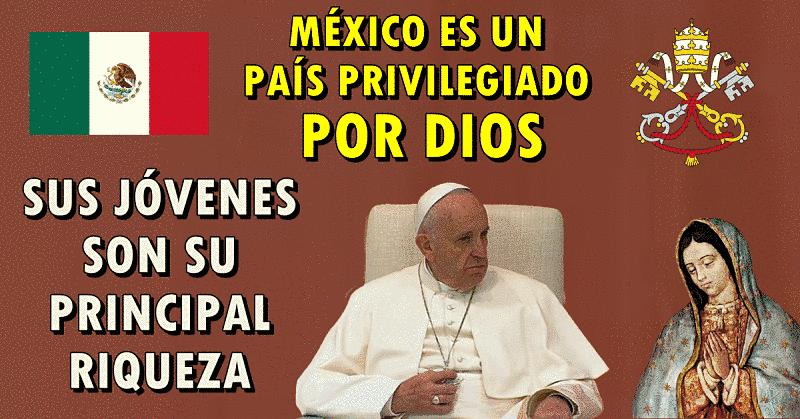 Bienvenida Papa Francisco México