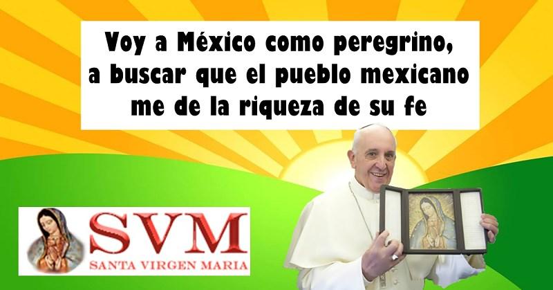 Francisco a México febrero 2016