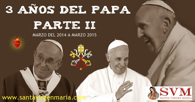 3 años del Papa Francisco