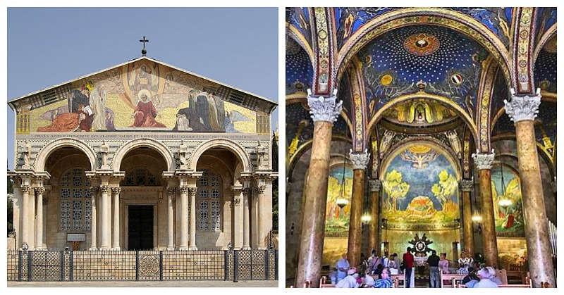 Basílica de Getsemaní Iglesia de todas las naciones peregrinación católica Israel