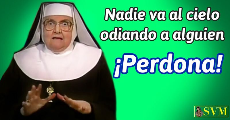 Frase Madre Angelica EWTN perdon misericordia