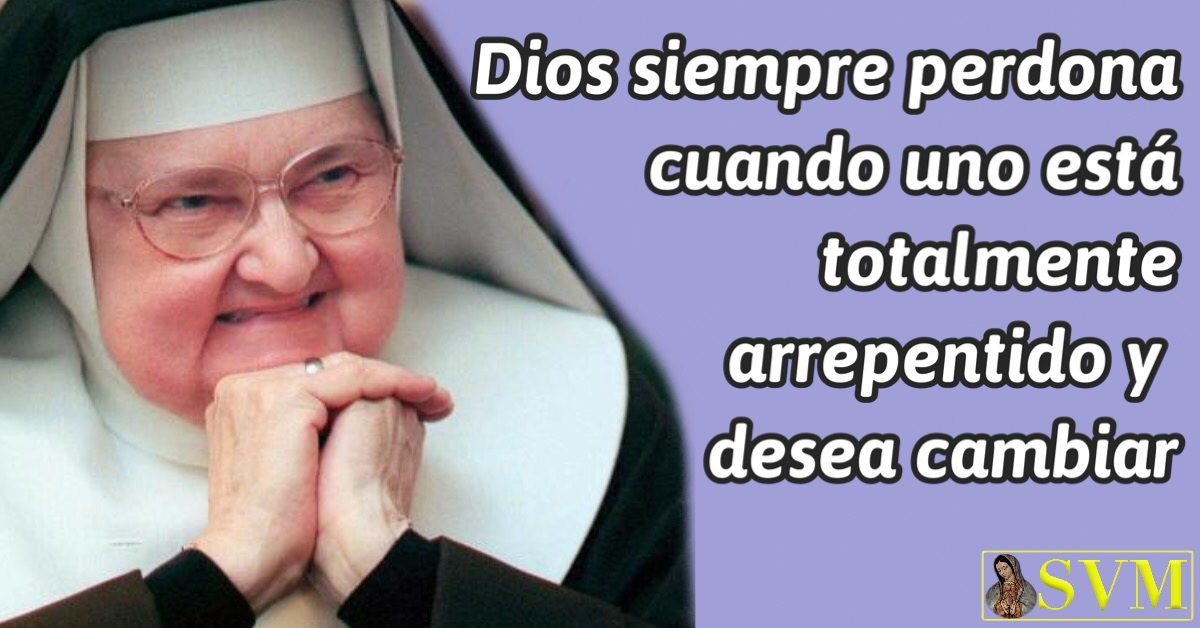 Frase perdon de Dios Madre Angelica EWTn
