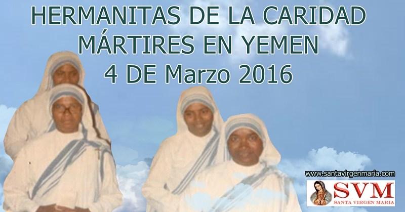 4 de febrero 2016 asesinadas por odio a la fe