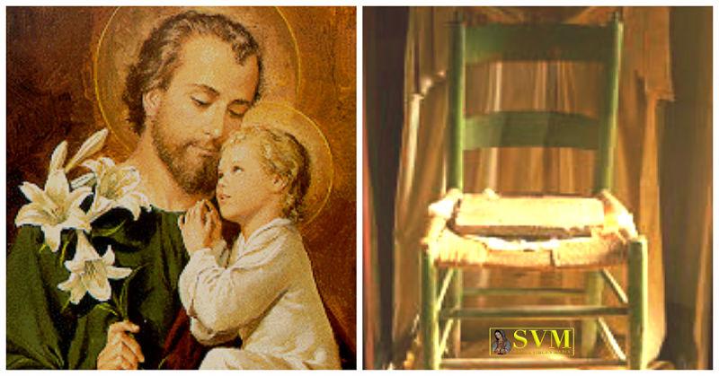 Aparición y milagrosa curación de San José Tuscania Italia
