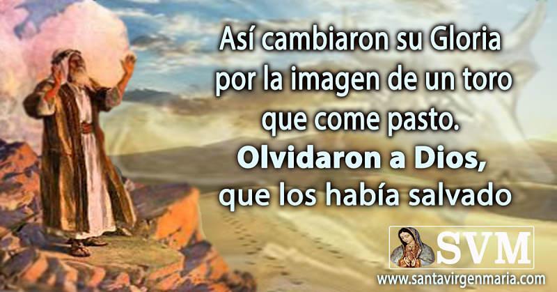 SE OLVIDARON DE DIOS