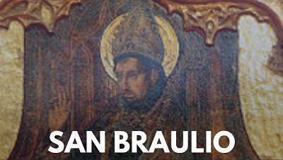 San Braulio de Zaragoza SANTO 17 DE MARZO SANTORAL CATÓLICO
