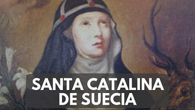 Santa Catalina de Suecia 24 MARZO nombre santoral
