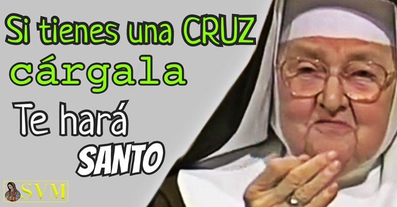 Santa Madre Angelica EWTN frase cruz santo santidad