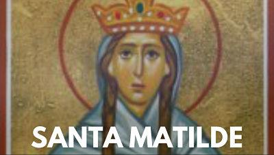 Santa Matilde de Ringelheim reina de alemania vida biografía foto