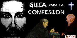 guia y oracion para antes de confesarse