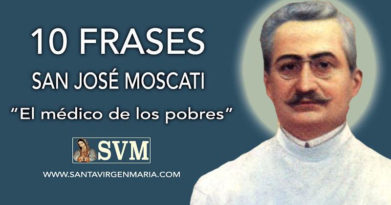 10 FRASES DE SAN JOSE MOSCATI