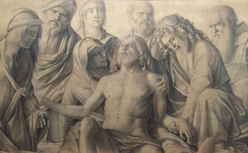 Giambellino cristo muerto uffizi