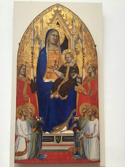 Virgen con niño y Santa María Magdalena y Santa Catalina de Alejandría