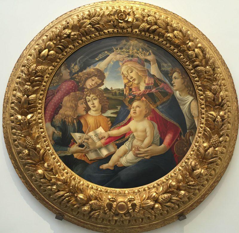 Virgen del Magnificat de Boticelli