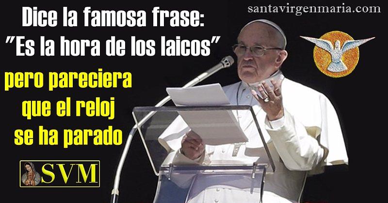 papa francisco Laicos latinoamericanos