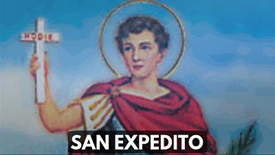 San Expedito patron 19 de abril