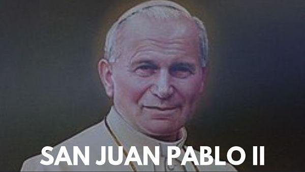 San Juan Pablo II 2 ABRIL SANTO vida foto imagen estampita