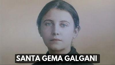 Santa Gema Galgani 11 DE ABRIL