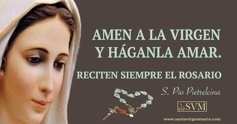 Frase San Pio Pietrelcina Santa Virgen Maria