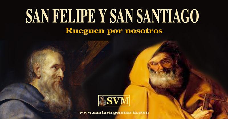 ORACION A LOS SANTOS FELIPE Y SANTIAGO