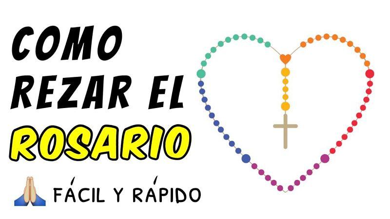 Tutorial: Como rezar el Santo Rosario