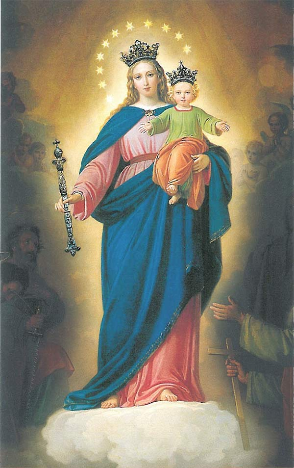 virgen maria auxiliadora