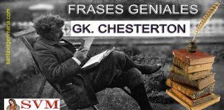 FRASES GENIALES DE G.KCHESTERTON