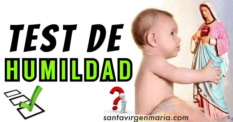 TEST DE HUMILDAD quiz catolico