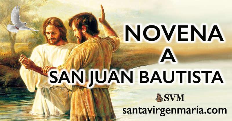 LA NOVENA A SAN JUAN EL BAUTISTA