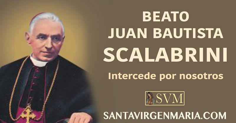 ORACION AL BEATO JUAN BAUTISTA SCALABRINI