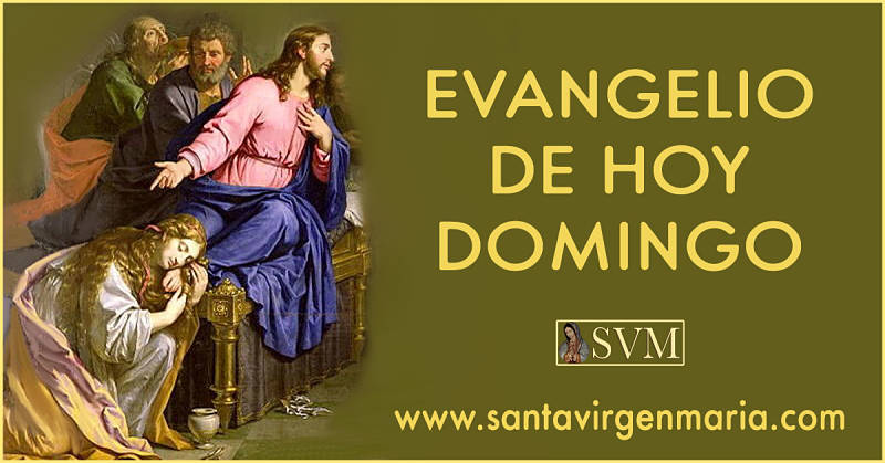 Evangelio San Lucas 7: 36-50 8 1-3 CATOLICO