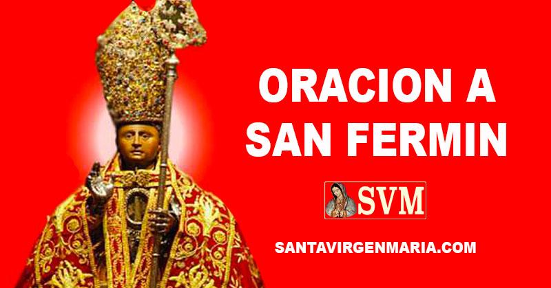 Oracion A San Fermin Santo Del Día 7 De Julio España