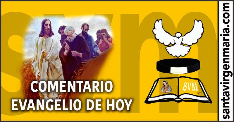 COMENTARIO DEL EVANGELIO 15 julio 2016