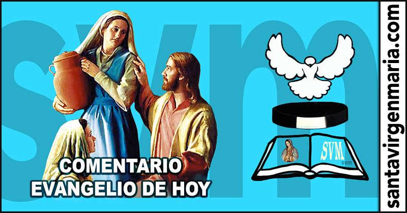 COMENTARIO DEL EVANGELIO 17 julio 2016