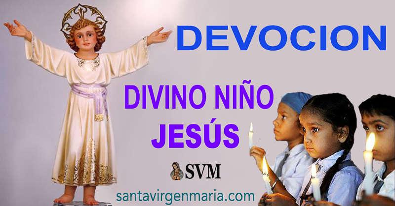 CONOCE COMO OBTENER LOS FAVORES DEL DIVINO NIÑO JESUS