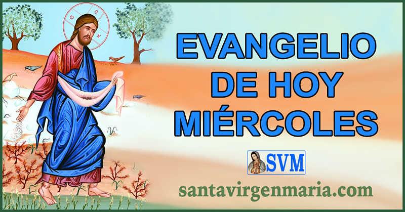 Evangelio San Mateo 13 1-9 CATOLICO