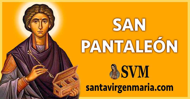 ORACION A SAN PANATALEON POR LOS ENFERMOS