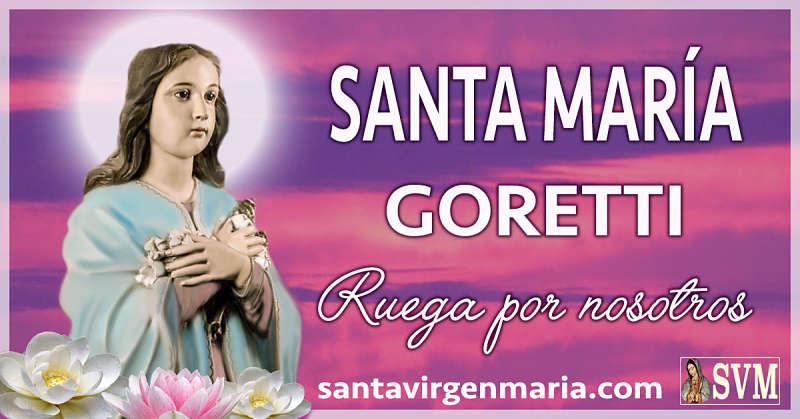 ORACION A SANTA MARIA GORETTI PARA PERDONAR DE CORAZON
