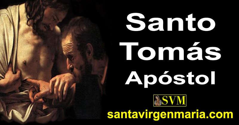 ORACION A SANTO TOMAS APOSTOL