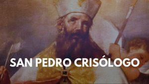 San Pedro Crisólogo biografia doctor de la iglesia catolica